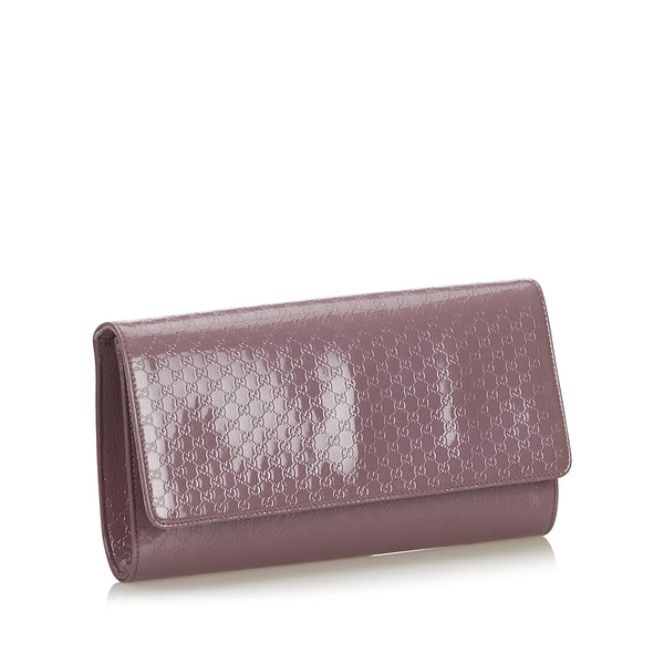 Buy & Consign Authentic Gucci Microguccissima Broadway Clutch at The Plush Posh