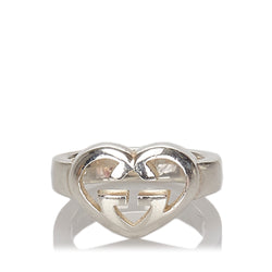 Buy & Consign Authentic Gucci GG Heart Ring at The Plush Posh