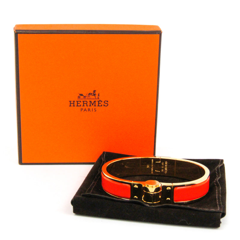 Buy & Consign Authentic Hermes Charniere Uni Narrow Hinged Bracelet at The Plush Posh