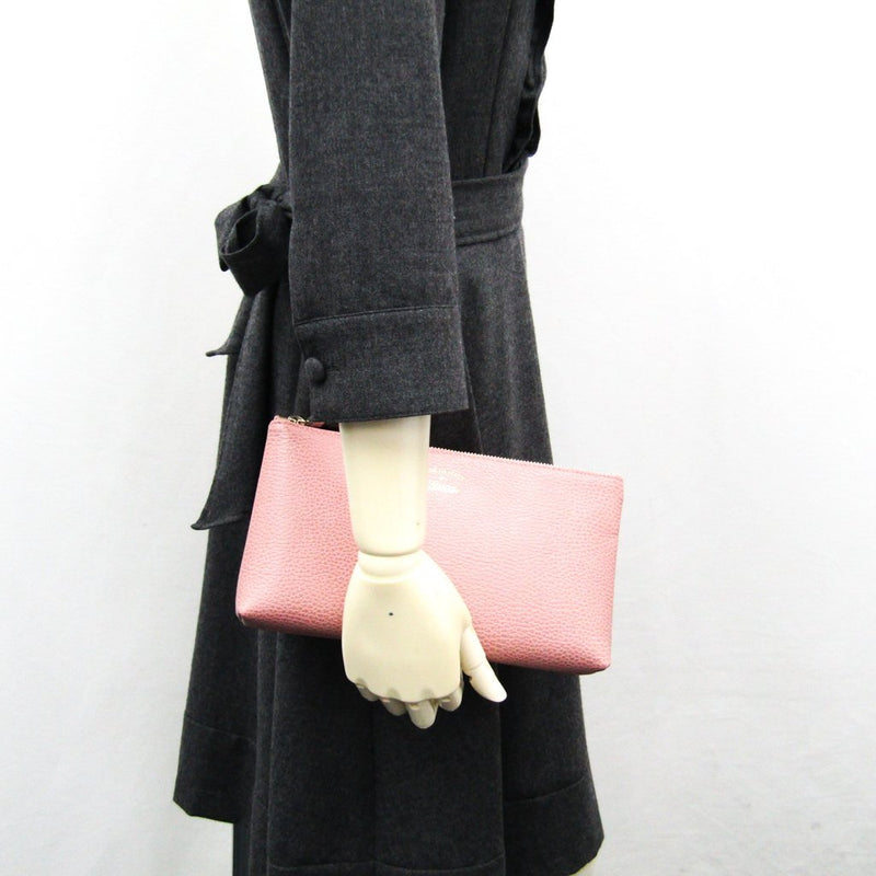 Buy & Consign Authentic Gucci Swing Leather Pouch Blush Pink at The Plush Posh