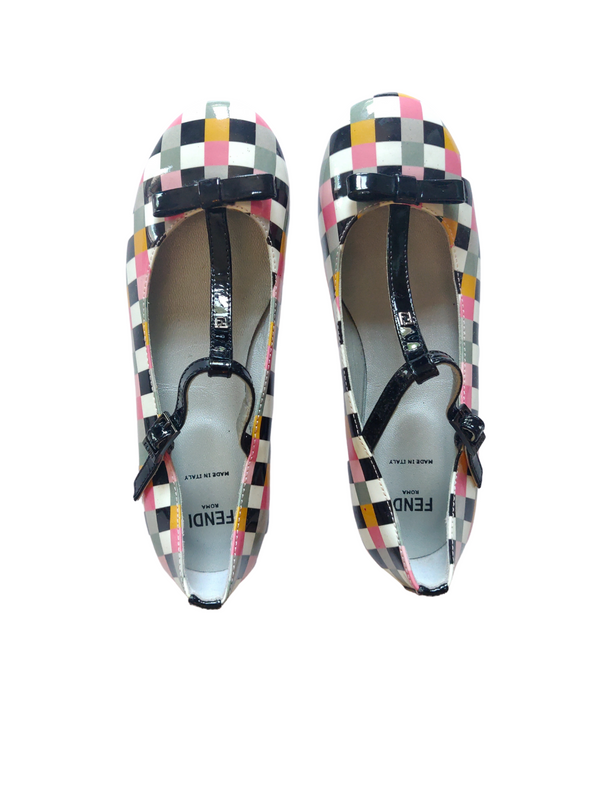 Fendi Patent Leather Ballerinas