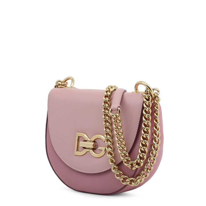 Buy & Consign Authentic Dolce and Gabbana Leather Media Wifi Shoulder Bag Pink at The Plush Posh