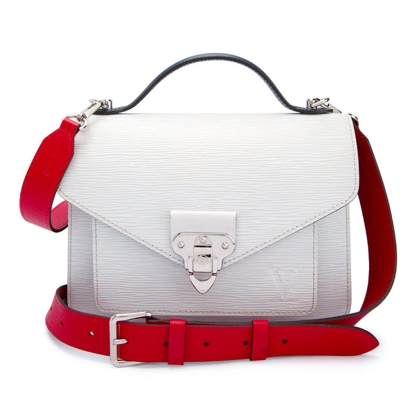 Louis Vuitton Neo Monceau Epi White