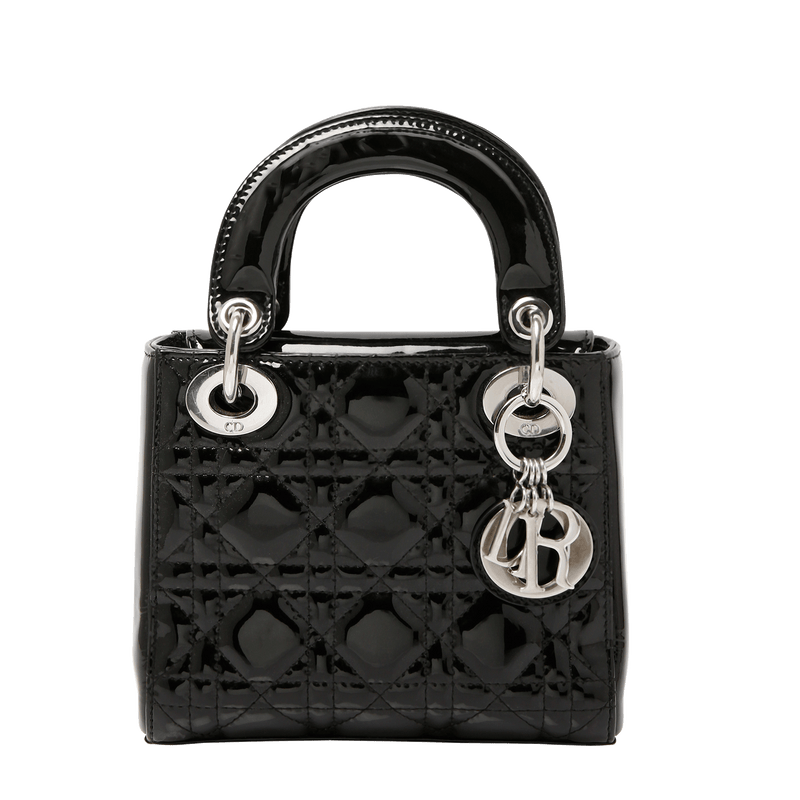 Buy & Consign Authentic Dior Lambskin Cannage Mini Lady at The Plush Posh