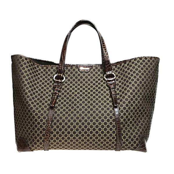 Buy & Consign Authentic Celine Brown Macadam Tote Bag at The Plush Posh