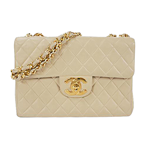 Buy & Consign Authentic Chanel Big Matelasse Chain Shoulder Bag at The Plush Posh