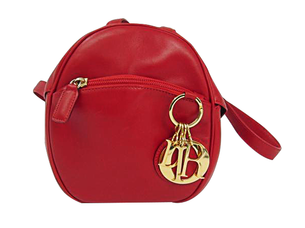 Buy & Consign Authentic Christian Dior Calfskin Back Pack Red at The Plush Posh