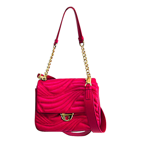 Buy & Consign Authentic Salvatore Ferragamo Pink Leather Shoulder Bag at The Plush Posh
