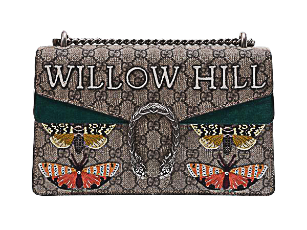 Buy & Consign Authentic Gucci 'Willow Hill' Dionysus Embroidered Shoulder Bag at The Plush Posh