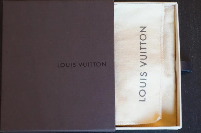 Louis Vuitton Taurillon City Steamer Luggage Tag Purple