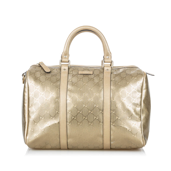 Buy & Consign Authentic Gucci GG Imprime Joy Boston Bag at The Plush Posh