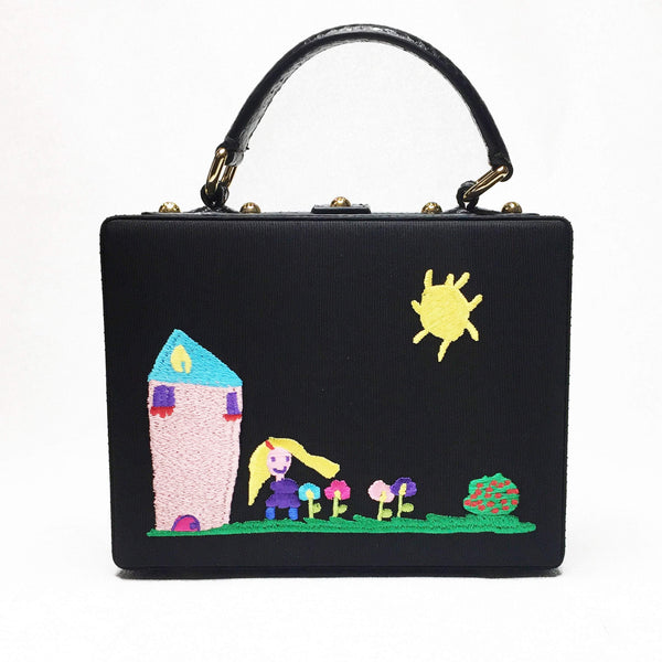 Buy & Consign Authentic Dolce & Gabbana Embroidered Mamma Bag at The Plush Posh
