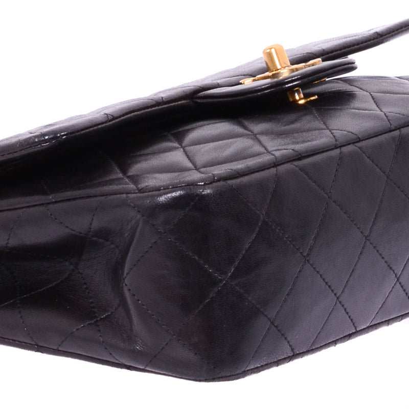Buy & Consign Authentic Chanel Lambskin Quilted Small Double Flap Black at The Plush Posh