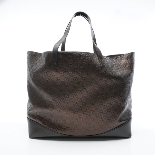 Buy & Consign Authentic Gucci Microguccissima Soft Margaux Tote Bronze at The Plush Posh