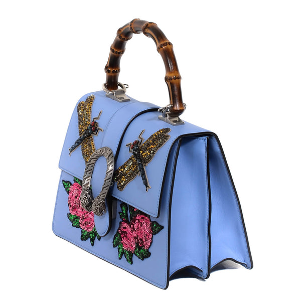 Buy & Consign Authentic Gucci Calfskin Medium Dionysus Embroidered Top Handle Bag at The Plush Posh