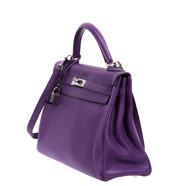 Buy & Consign Authentic Togo Kelly Retourne 32 Violet at The Plush Posh