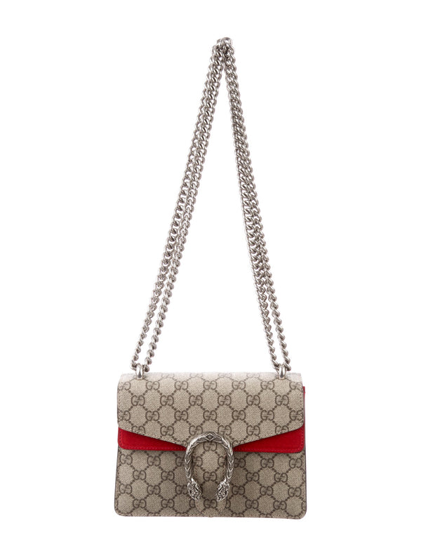 Gucci Dionysus Red Mini shoulder bag