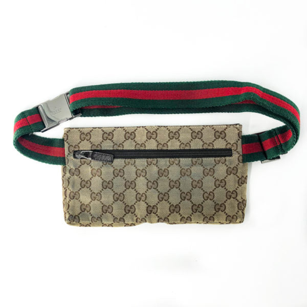 Gucci Monogram Shelley Belt Bag