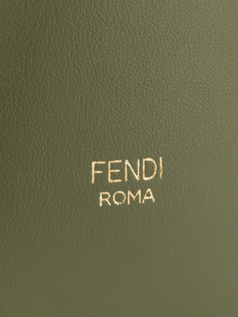 Fendi Mon Tresor Green Leather Mini Bag