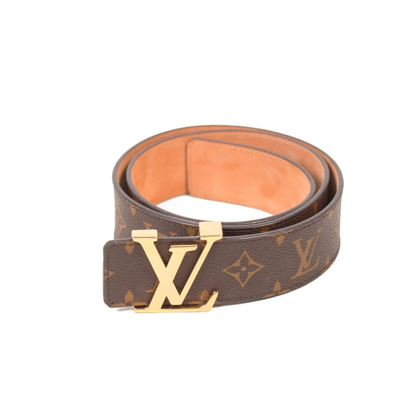 Buy & Consign Authentic Louis Vuitton Monogram 40mm LV Initiales Belt 95 at The Plush Posh
