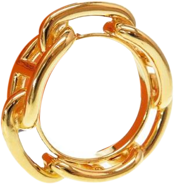 Buy & Consign Authentic Hermes Regate Gold Plated Scarf Ring at The Plush Posh