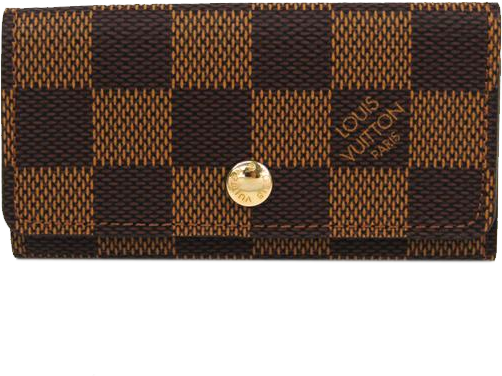 Buy & Consign Authentic Louis Vuitton Damier 4 Key Holder Case at The Plush Posh