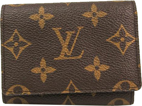 Buy & Consign Authentic Louis Vuitton Monogram Business Card Case at The Plush Posh