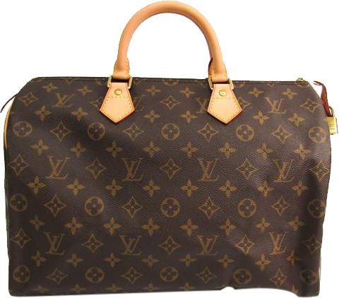 Buy & Consign Authentic Louis Vuitton Monogram Speedy 35 at The Plush Posh