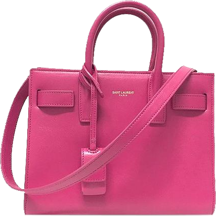 Buy & Consign Authentic Saint Laurent Calfskin Small Sac De Jour Bubblegum Pink at The Plush Posh