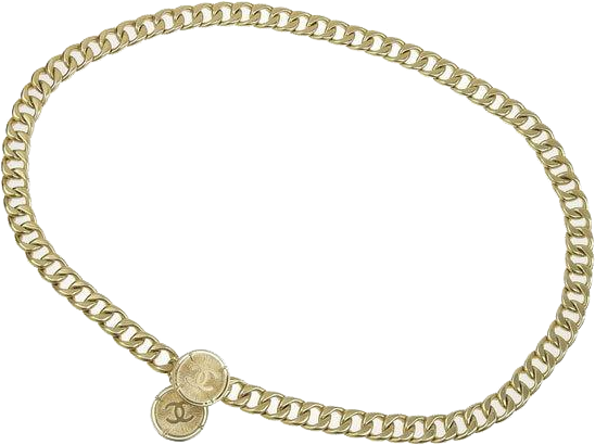 Buy & Consign Authentic Chanel CC Belt Gold at The Plush Posh