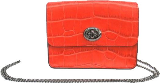 Buy & Consign Authentic Coach Crossbody Orange Clutch at The Plush Posh