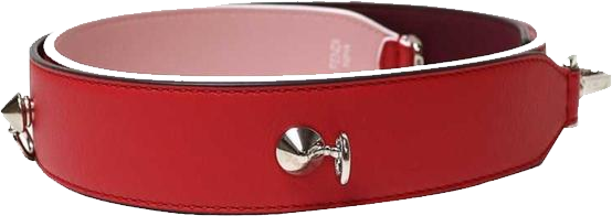 Buy & Consign Authentic Fendi Leather Strap Red at The Plush Posh