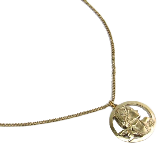 Buy & Consign Authentic Chanel Medallion Chain Necklace Gold at The Plush Posh