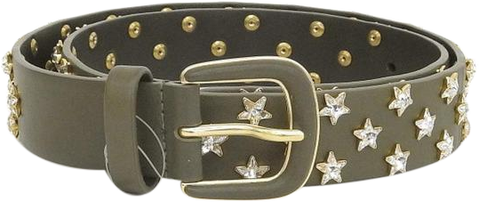 Buy & Consign Authentic Chanel Starmark Leather Belt at The Plush Posh