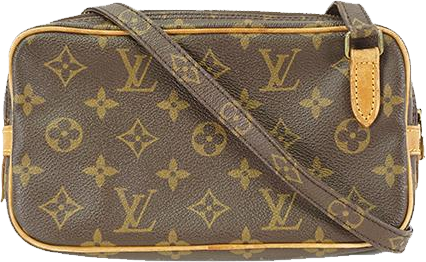 Buy & Consign Authentic Louis Vuitton Monogram Canvas Pochette Marly Bandouliere Bag at The Plush Posh