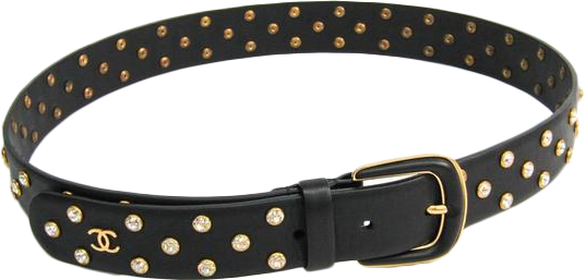 Buy & Consign Authentic Chanel Women's Leather Belt Black 75 at The Plush Posh