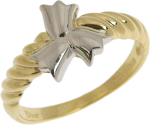 Buy & Consign Authentic Christian Dior K18 Platinum Ring at The Plush Posh