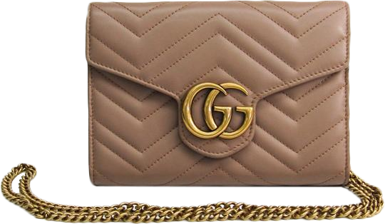 Buy & Consign Authentic Gucci Calfskin Matelasse Super Mini GG Marmont Beige at The Plush Posh