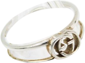 Buy & Consign Authentic Gucci Interlocking Silver 925 Ring at The Plush Posh