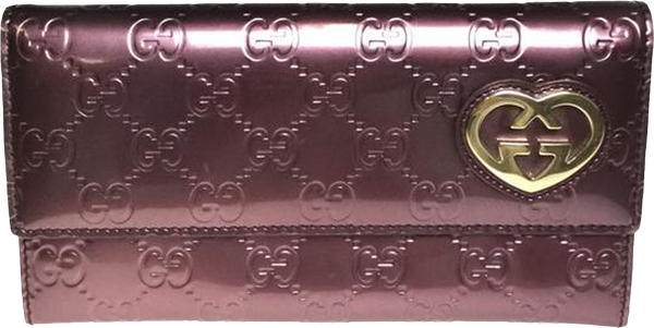 Buy & Consign Authentic Gucci 251861 GG Guccissima Long Wallet at The Plush Posh
