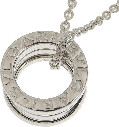 Buy & Consign Authentic Bvlgari White Gold B.Zero1 Pendant Necklace at The Plush Posh