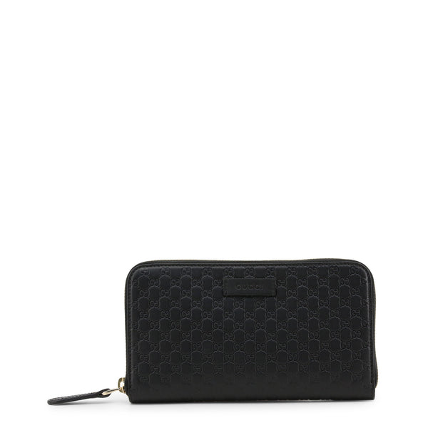 Buy & Consign Authentic Gucci Microguccissima Zip Around Wallet Black at The Plush Posh