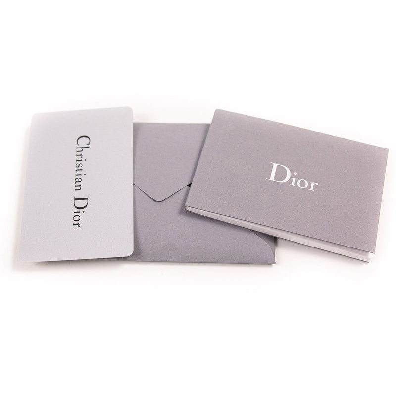 Buy & Consign Authentic Christian Dior Metallic Calfskin J'adior Croisiere Chain Wallet Silver at The Plush Posh