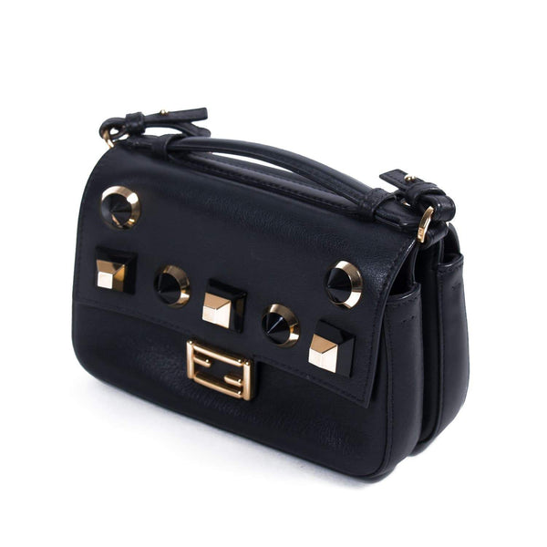 Buy & Consign Authentic Fendi Double Micro Baguette Black at The Plush Posh