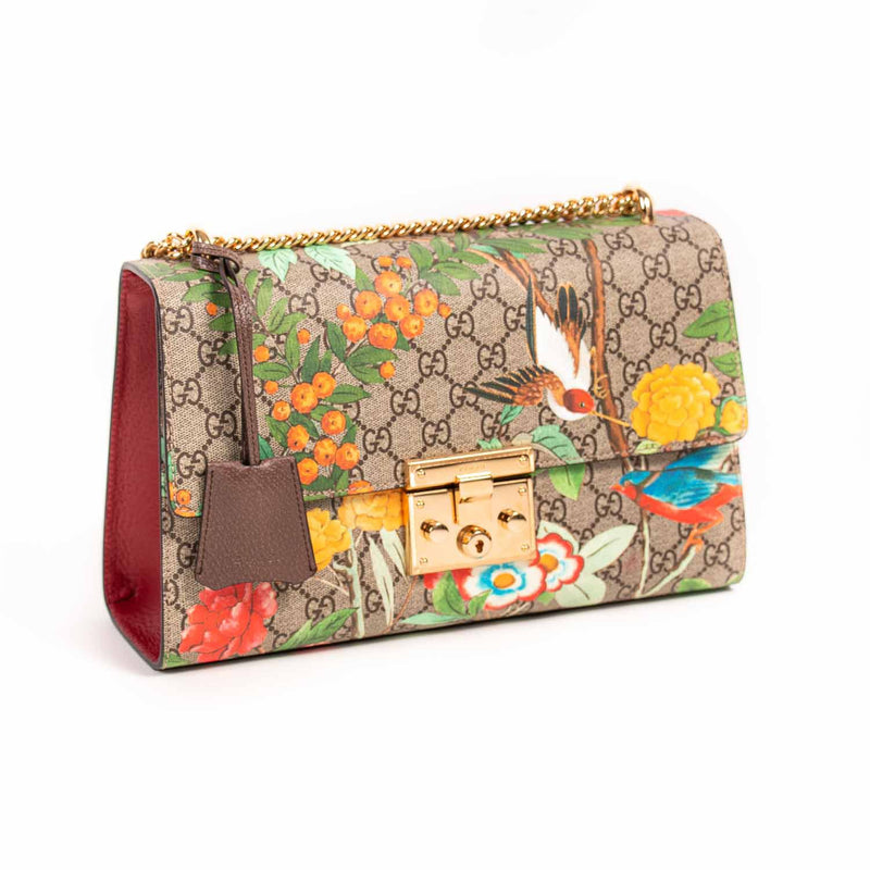 Buy & Consign Authentic Gucci Guccissima Large Padlock Shoulder Bag Tian at The Plush Posh