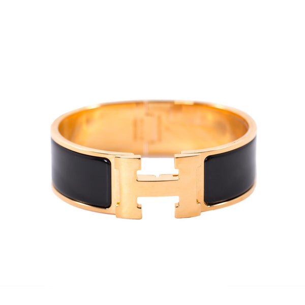 Buy & Consign Authentic Hermes Enamel Wide Clic Clac H Bracelet at The Plush Posh