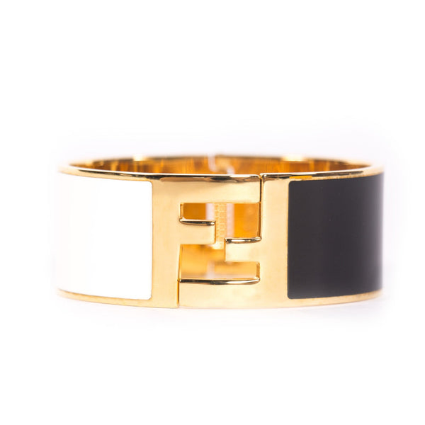 Buy & Consign Authentic Fendi Enamel Fendista Bracelet at The Plush Posh
