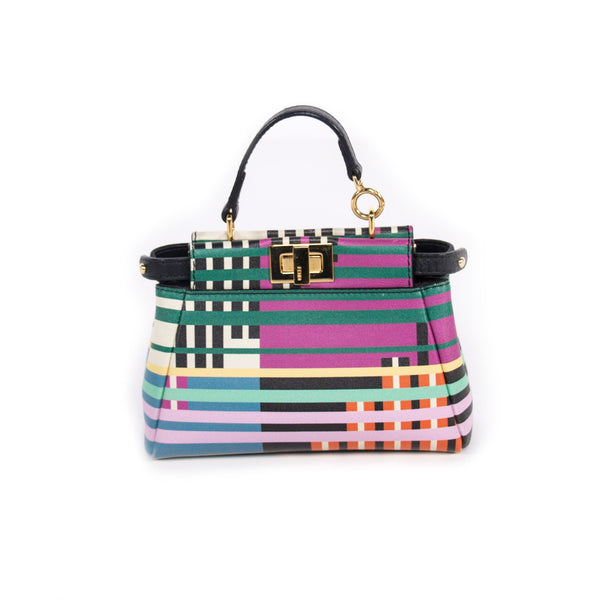 Buy & Consign Authentic Fendi Nappa Micro Peekaboo Bag Multi at The Plush Posh