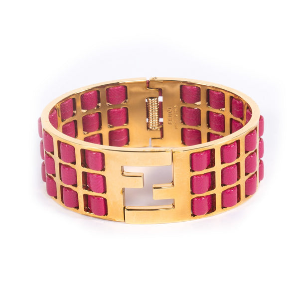 Buy & Consign Authentic Fendi Fendista Bracelet at The Plush Posh