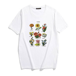 Wild Flower Tshirts - RE Apparel